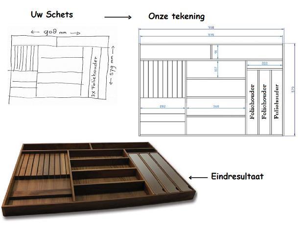 Keuken Hout Op Maat : – inbouwapparatuur – accessoires – BESTEKBAK HOUT OP MAAT – FLEXIBEL
